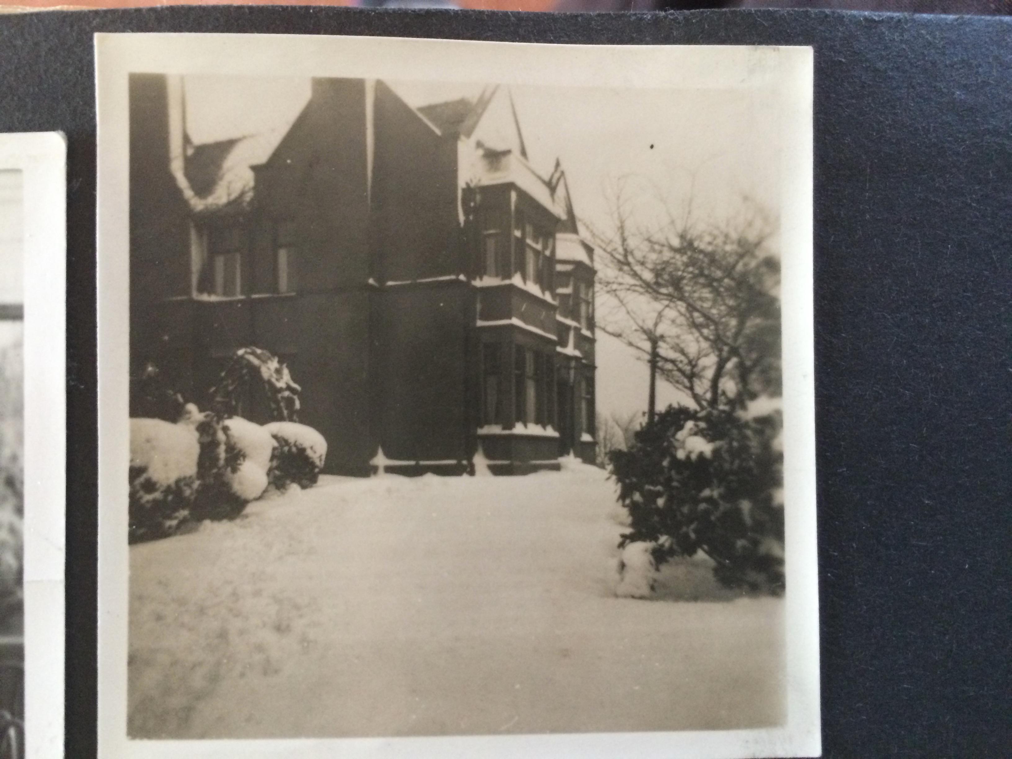 Rainshore in the snow c1940