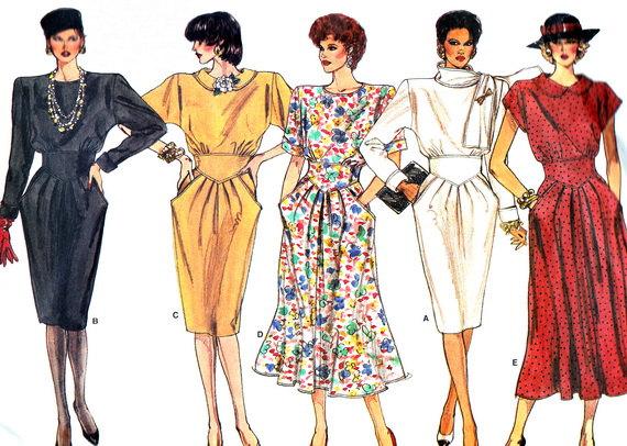 1980s peg skirt