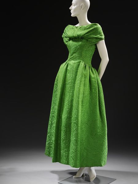 1955 Givenchy evening dress