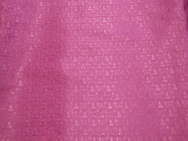 Pink handwoven silk from Cheap Fabrics