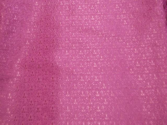 Pink handwoven silk from Cheap Fabrics