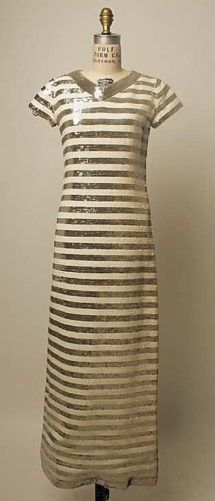 YSL evening dress 1966