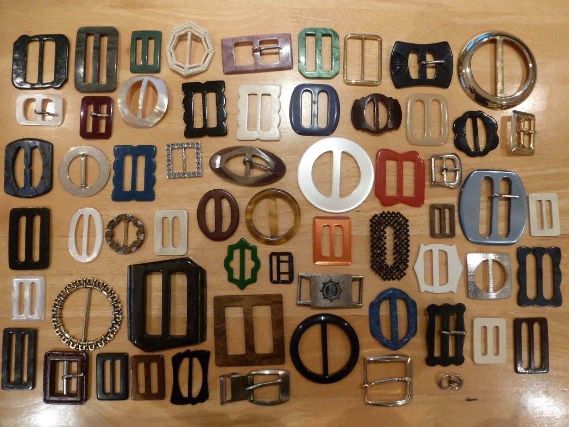 Job lot of buckles on eBay (UK)