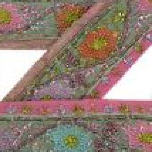Vintage sari border