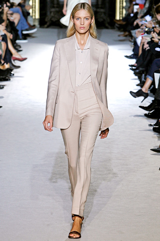 Stella McCartney trouser suit and shirt