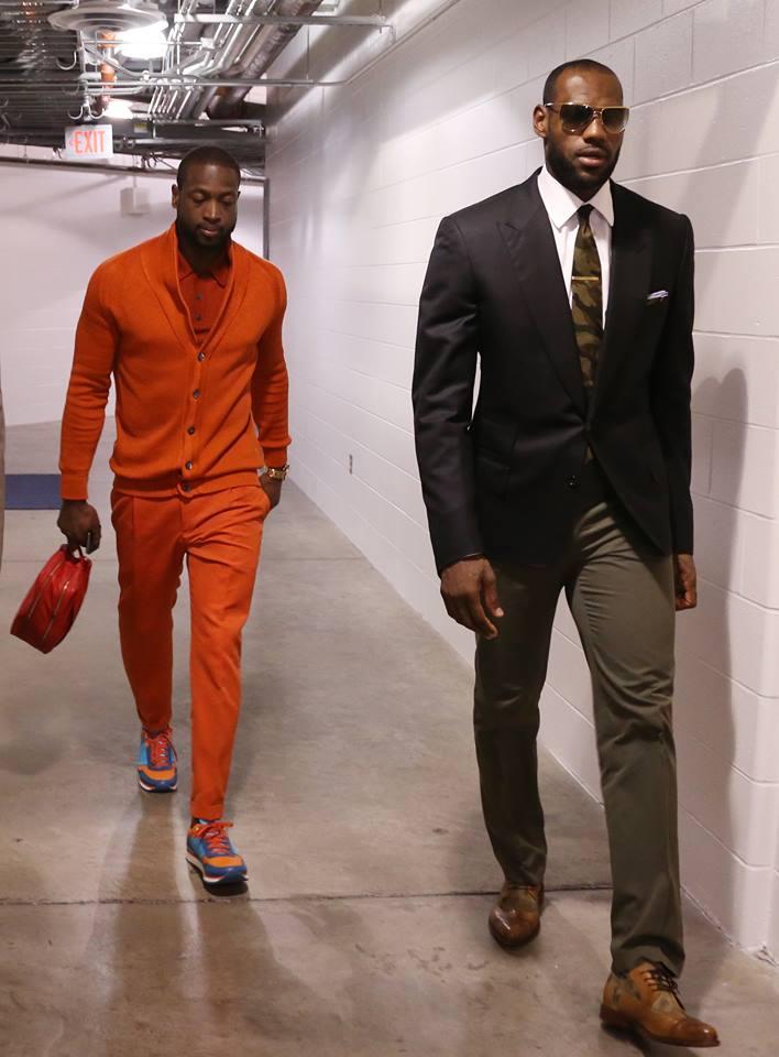 NBA style.