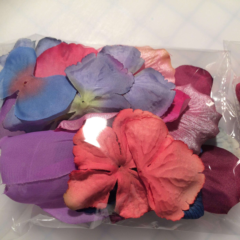 Fabric petals