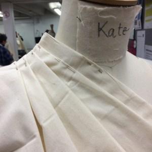 Schiaparelli blouse Close up of neck