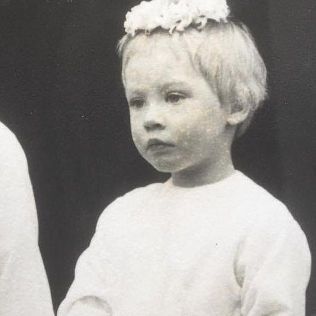 1958 bridesmaid