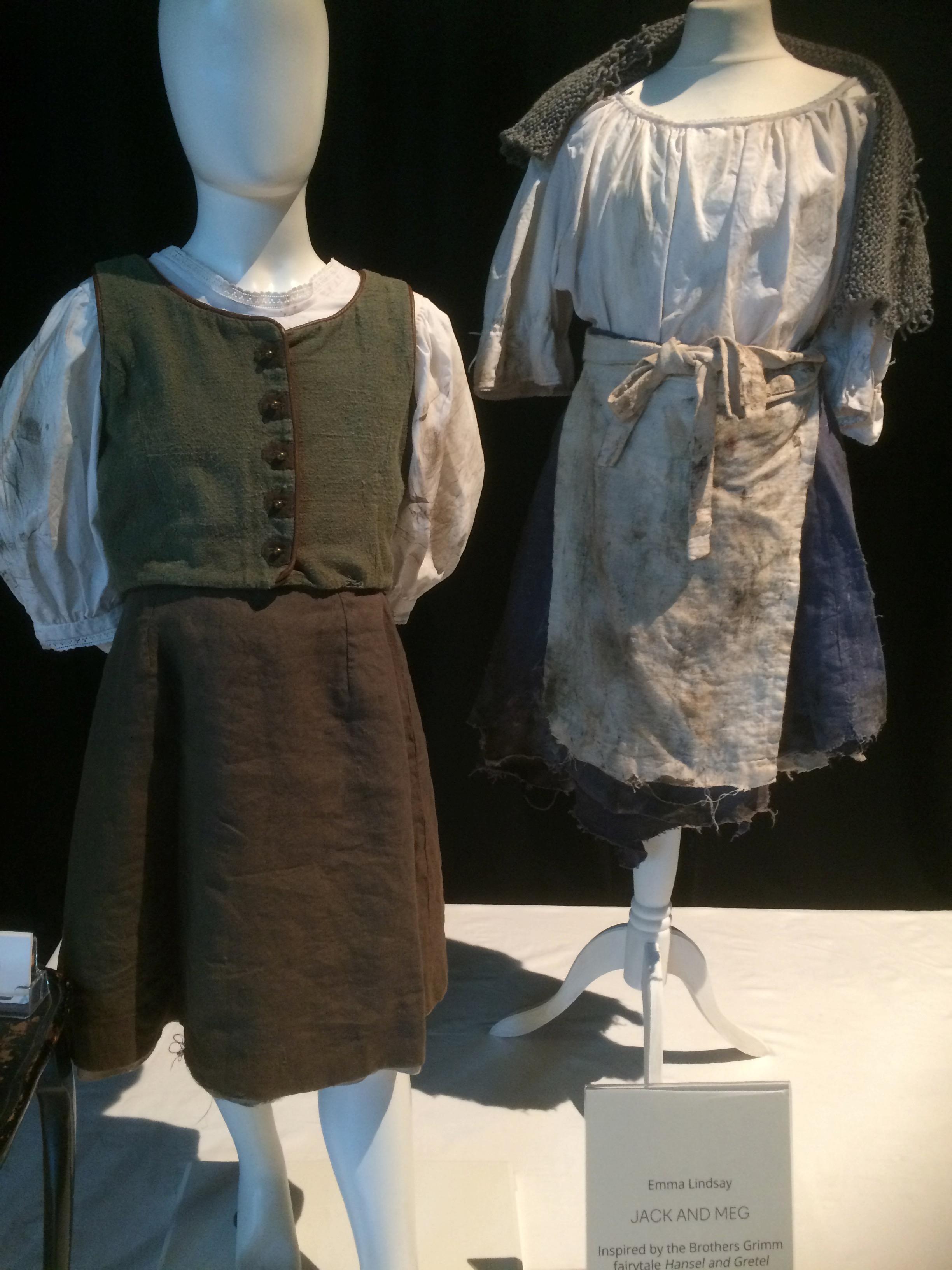 Emma Lindsay Hansel and Gretl costumes