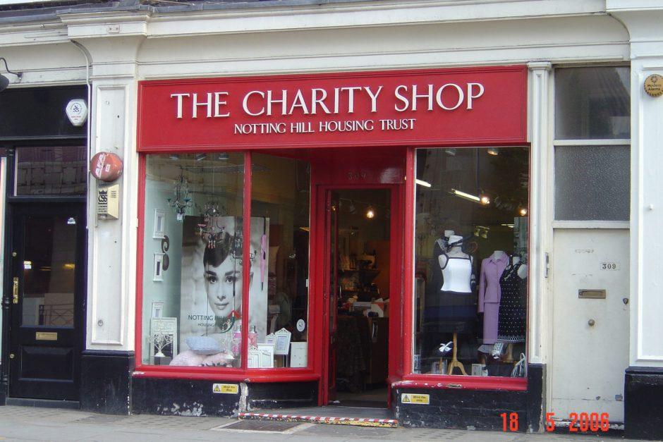 Notting Hill Housing Trust Charity Shop