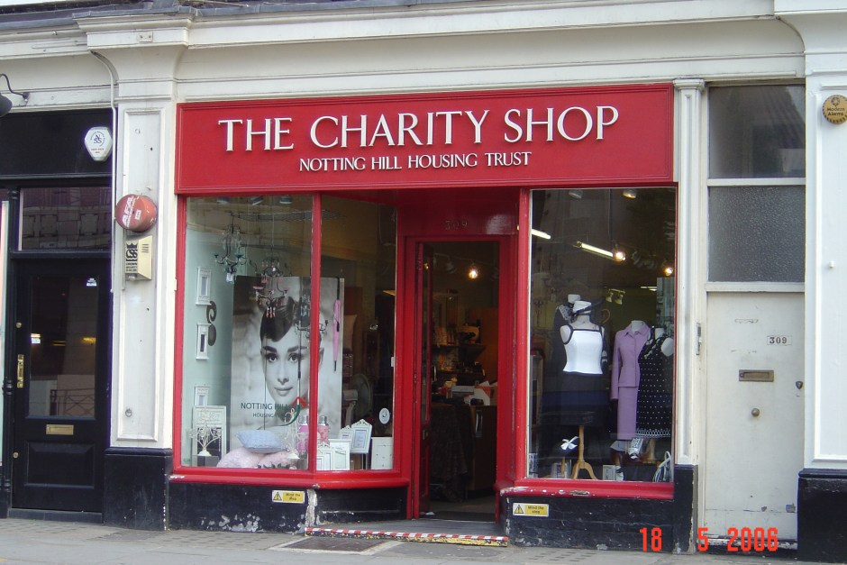 Charity Shop shopping – Fabrickated