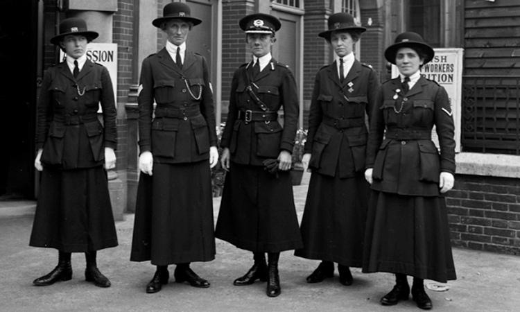 Women police officers 1WW