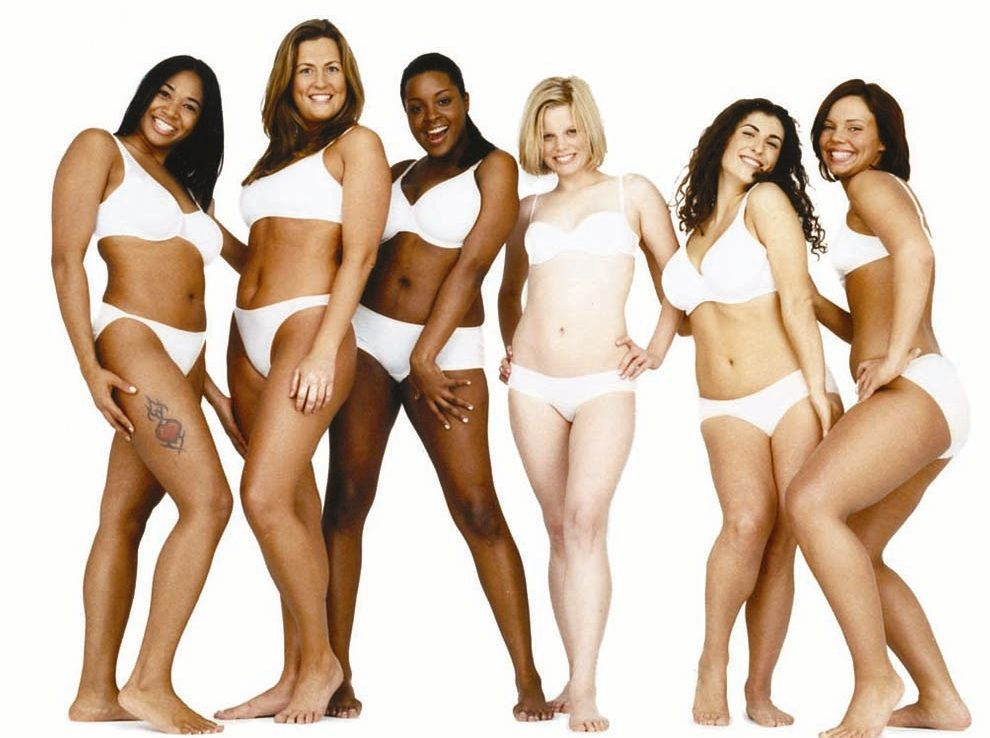 "Dove's ""Real women"""