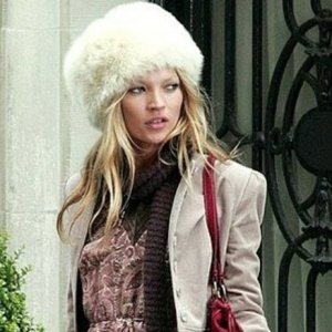 Winter furry pull on hat
