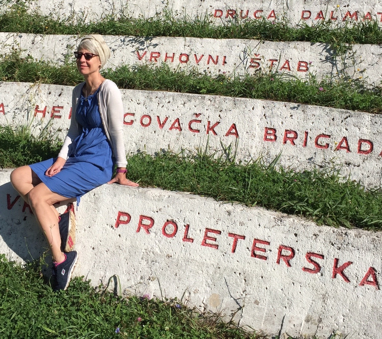 War memorial Sutjeska N.P.