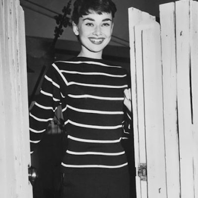 Audrey in Sonia jersey