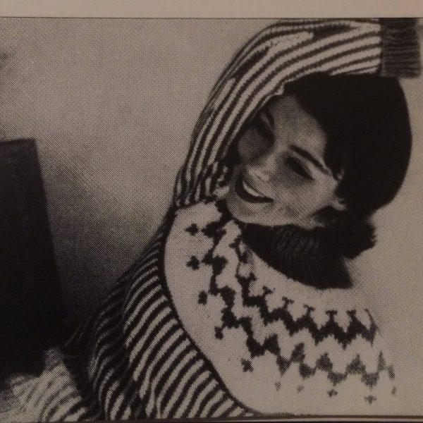 Original 1958 Vogue Ski sweater pattern