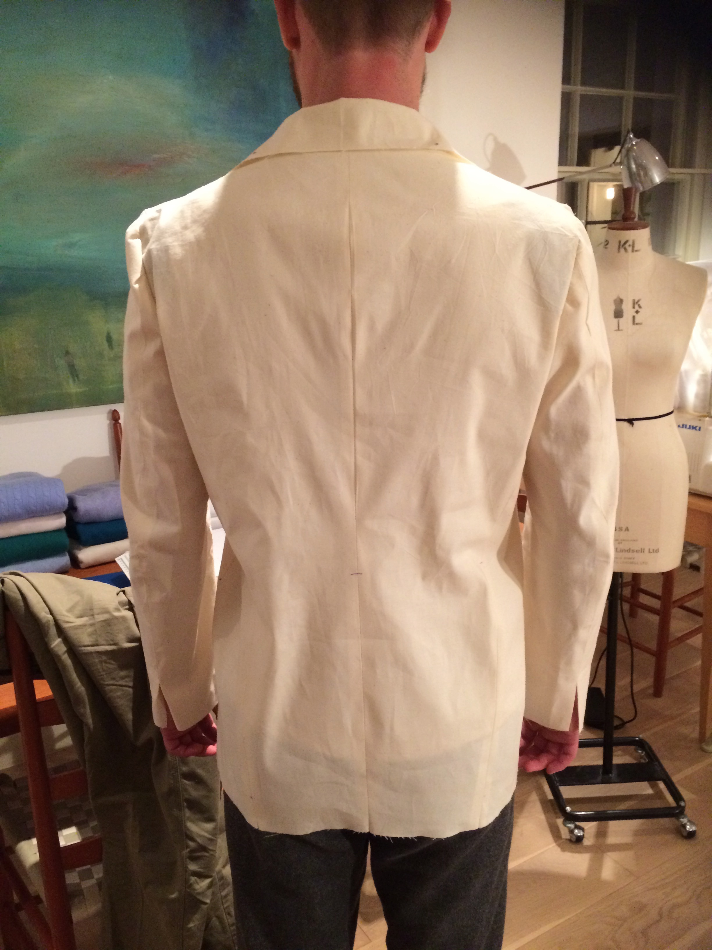 Toile #2 Back
