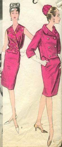 Vogue 1213 Castillo for Lanvin (1963)