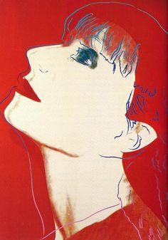 Sonia Rykiel by Andy Warhol