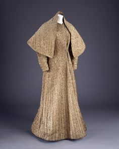 1938 Schiaparelli coat and stole