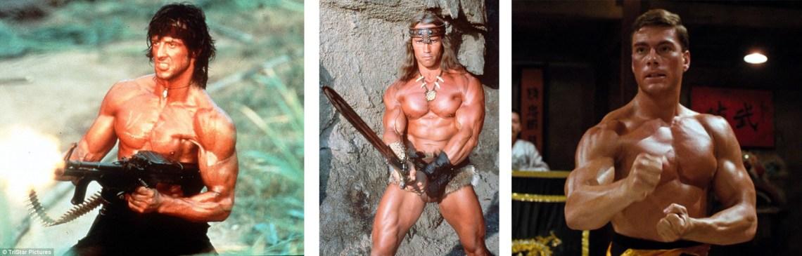 Stallone, Schwarzenegger, Van Damm