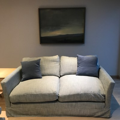 sofa and Vincent Black painting