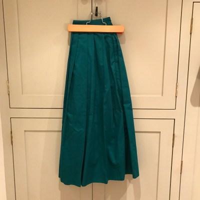 Emerald Green full skirt (Finery sale)