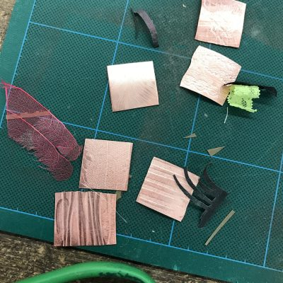 Copper samples