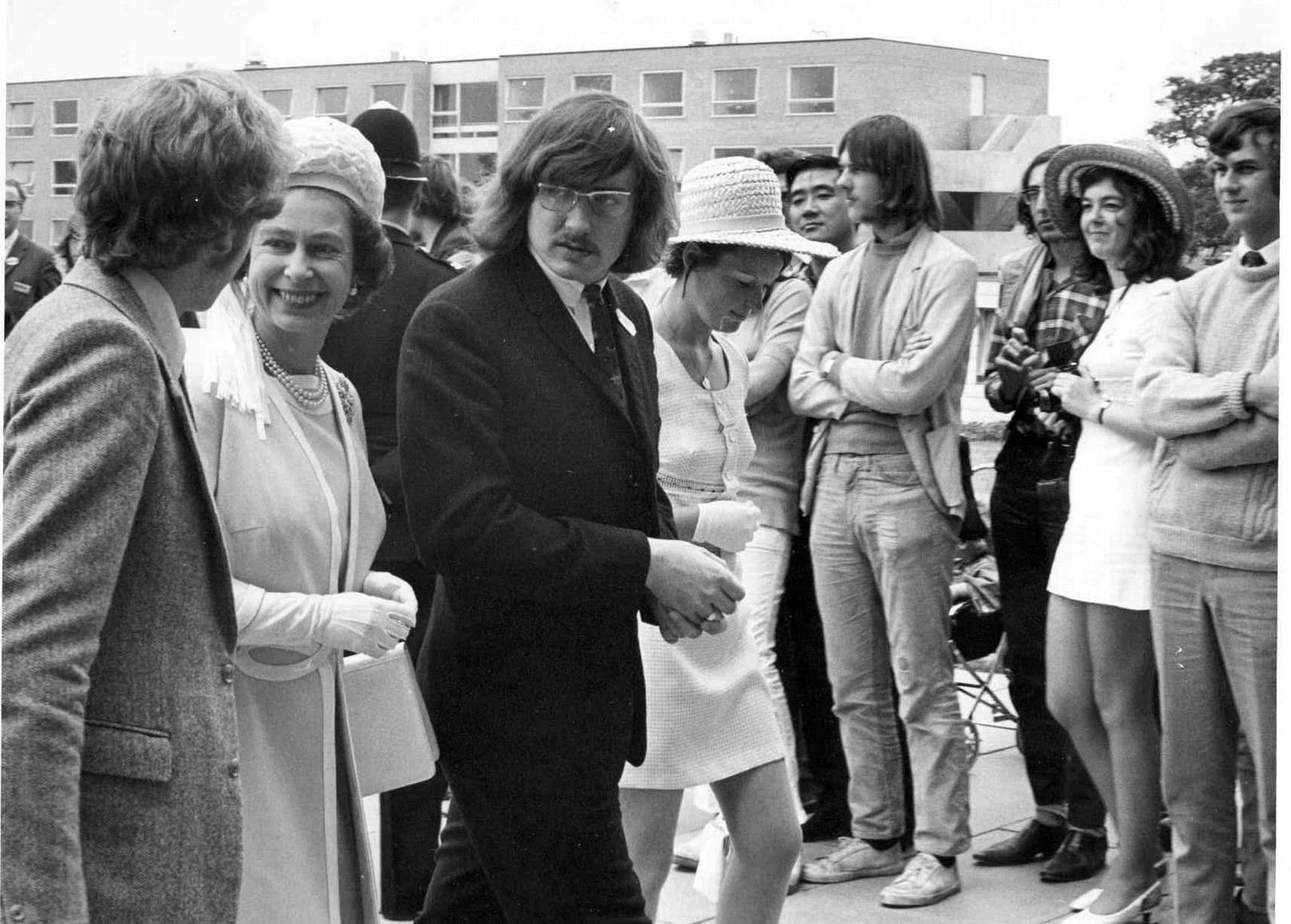 Queens Visit to Warwick 1970