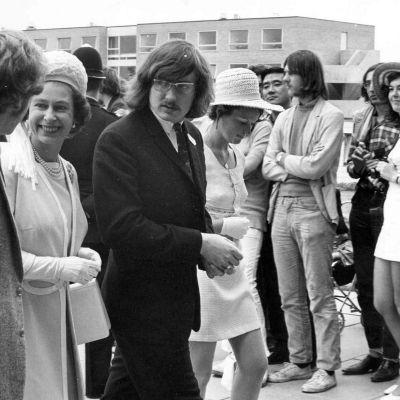 Queens Visit to Warwick 1970