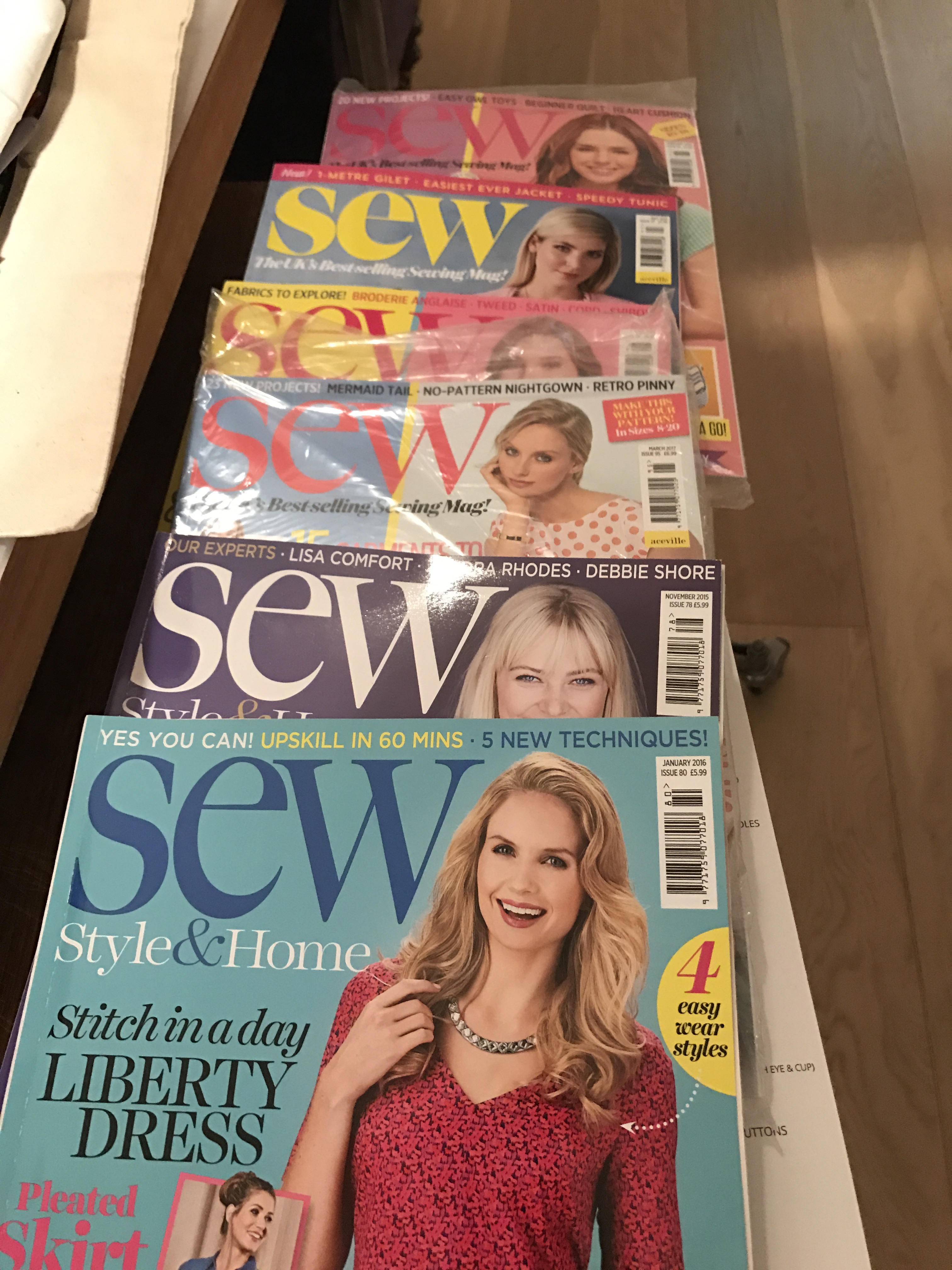 Sewing magazines