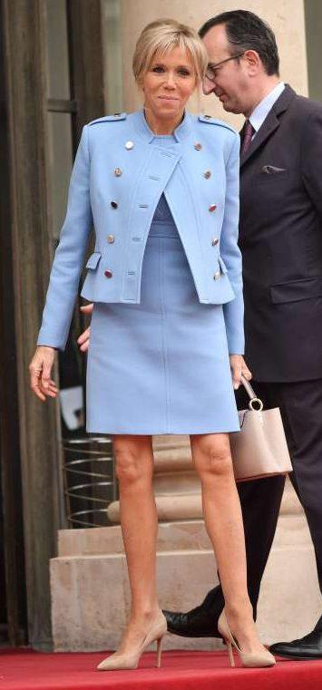 2017 fashion over 60 - Style Analysis Brigitte Macron Fabrickated
