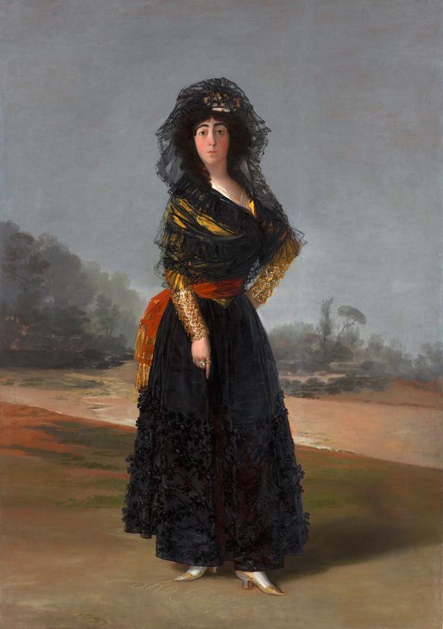 The Duchess of Alba by Goya