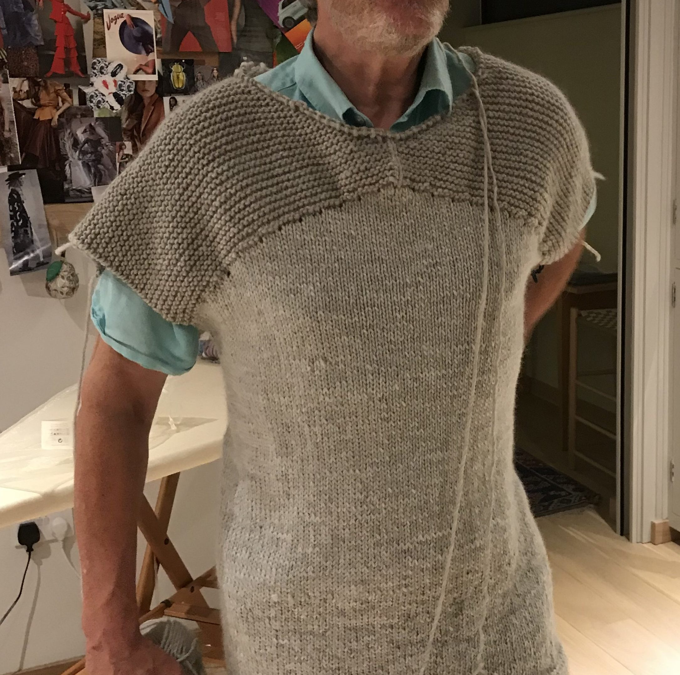 New Zealand sweater STALLED