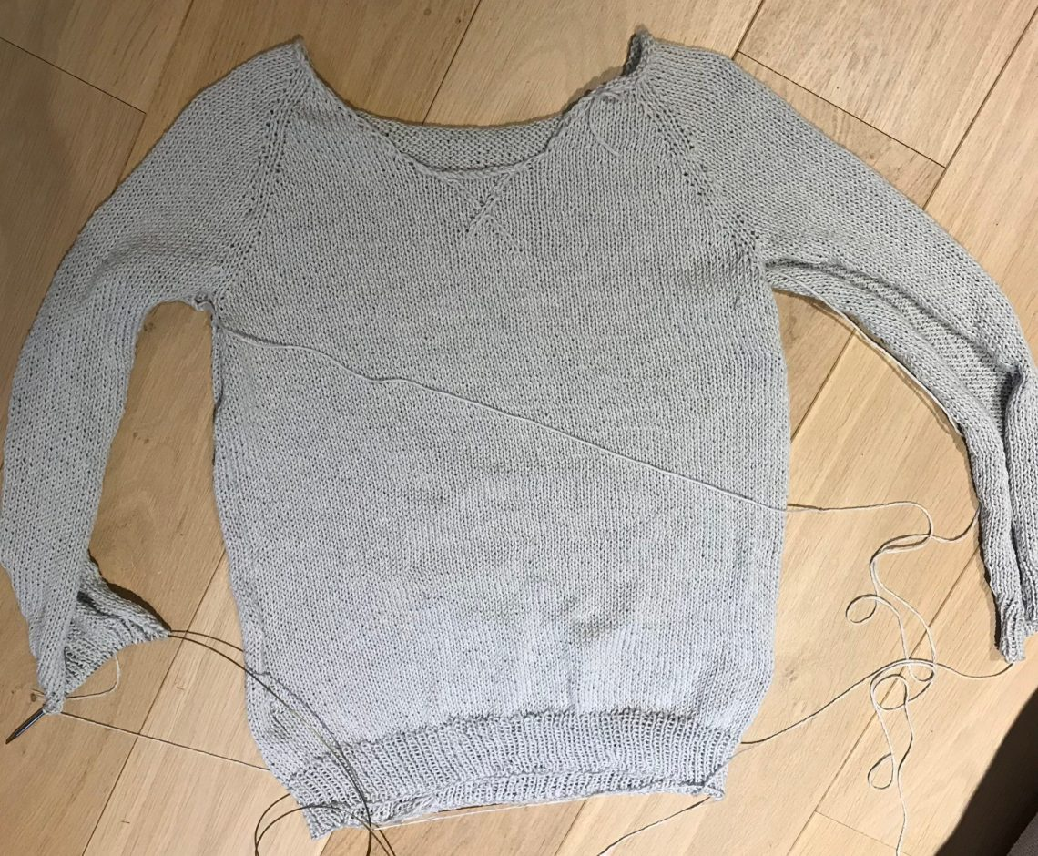 Alterations to Autumn League sweater pattern