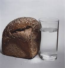 Irving Penn, Bread, salt and water, 1980