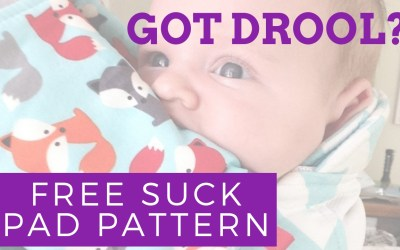 How to Make Baby Carrier Suck Pads – Free Pattern & Tutorial