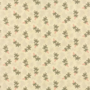 Hyde Park - Half Yard - Delphinium Daisy Natural Bloom Floral Flowers with Green and Pink Designer Quilting Blackbird Designs Moda 2764 11