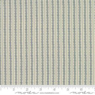Rachel Remembered Fabric - Moda Fabric - Half Yard - Betsy Chutchian Lapis Blue Reproduction Stripe Quilt Civil War Fabric 31545 14