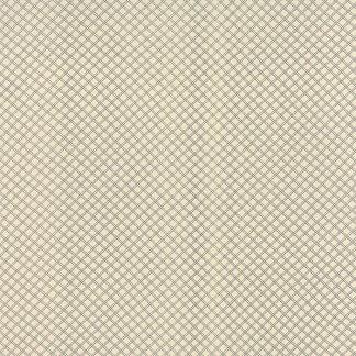 Silver Linings Shirtings - Half Yard - Moda Fabric Crosshatch Charcoal Black on Cream Off White Edyta Sitar Laundry Basket Quilts 4226515