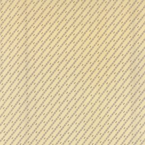 Wild Orchid Lady Slipper - Half Yard - Moda Fabric Diagonal Stripes Natural Cream White with Purple Blackbird Designs Quilt Fabric 2777 22