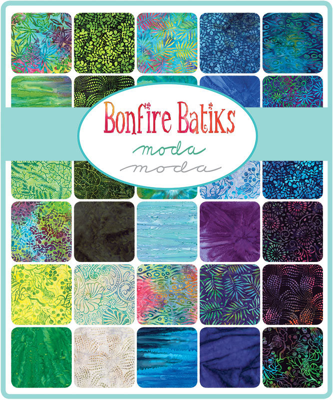 Batik Fabric Layer Cakes