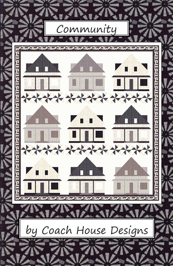 Community Quilt Pattern Coach House Designs Farmhouses Homes Stunning Moda Quilt Patterns