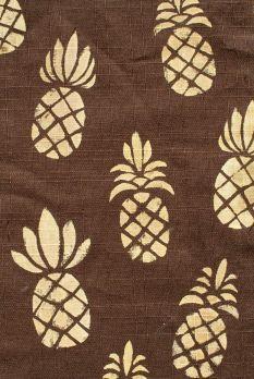 brown pineapple