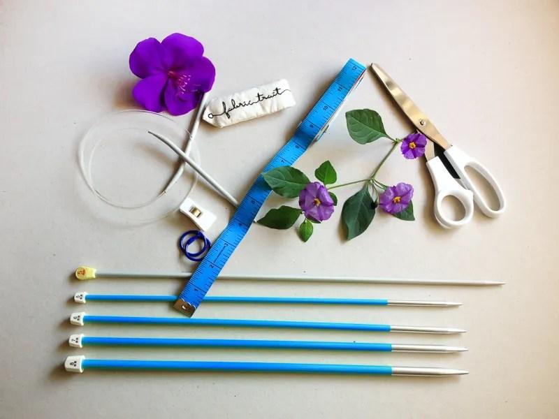 Utensílios de Tricot | Fabric Trait