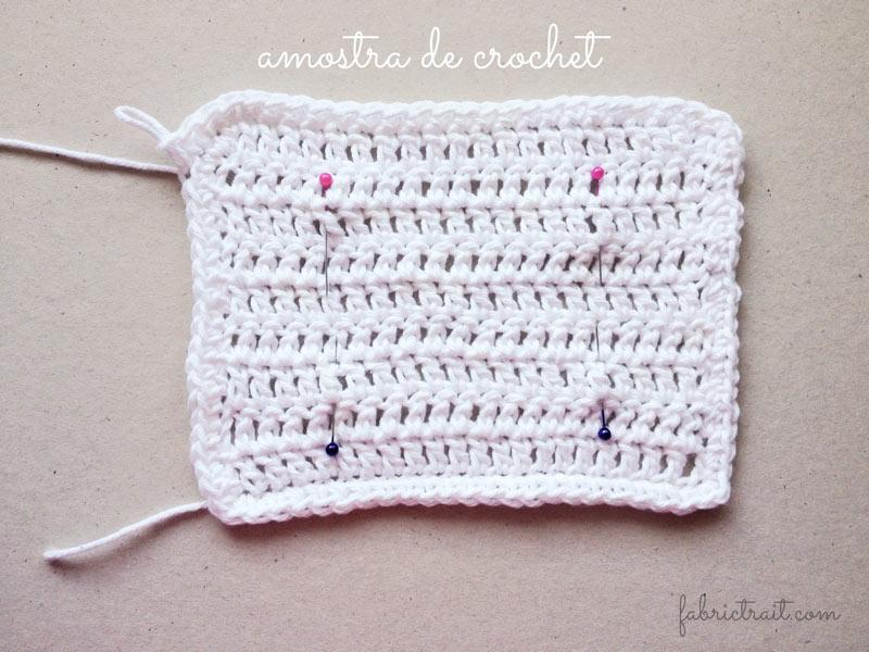 Amostra de crochet - Dicas de crochet | Nº 1