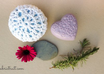 Crochet SOAP dish