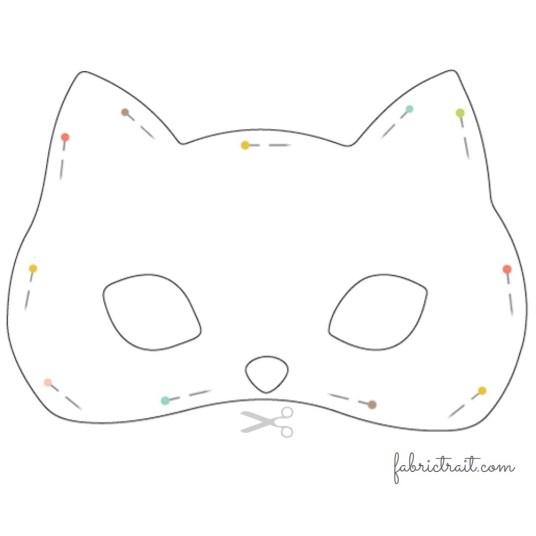 Máscara Gato - passo 2